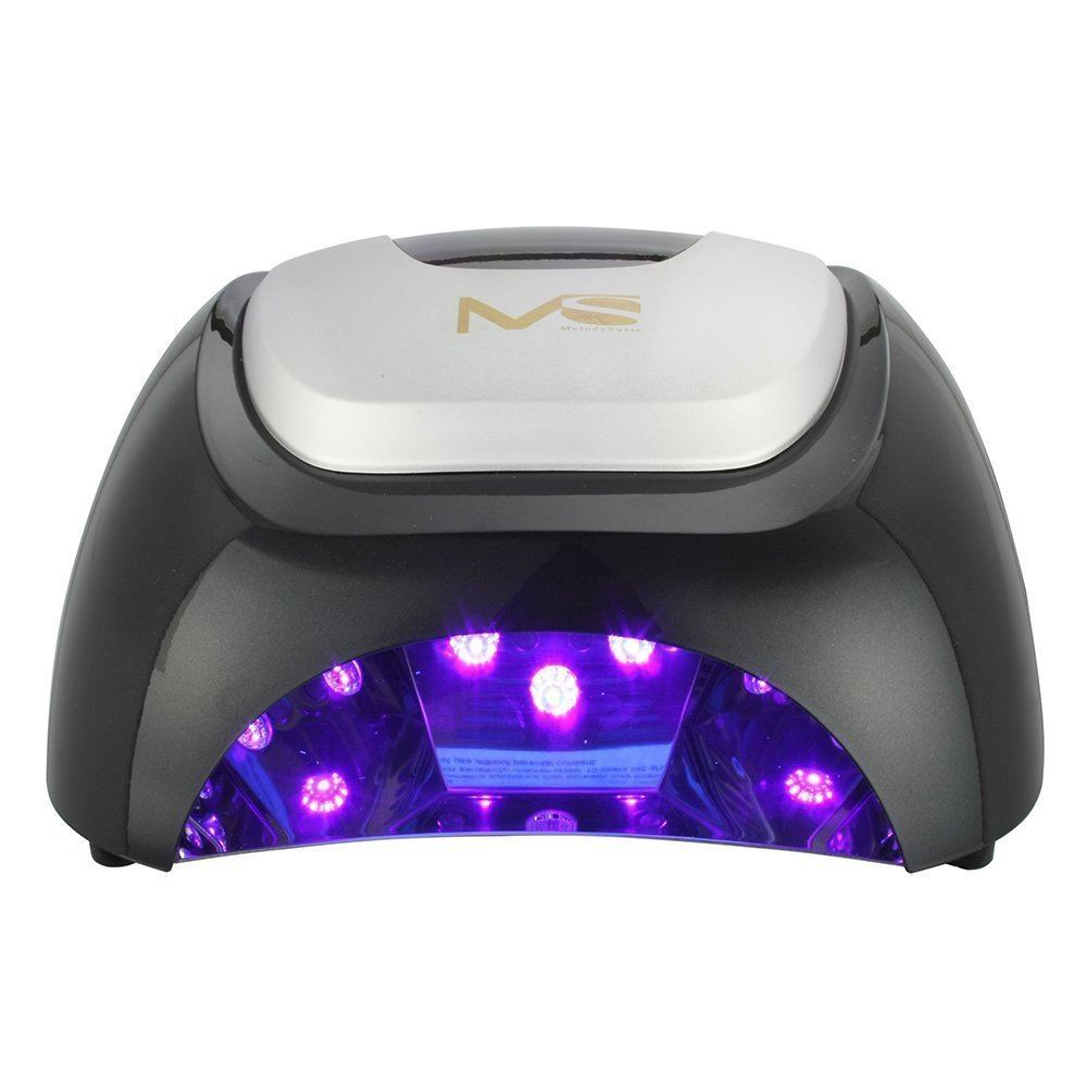Lampe LED MelodySusie Violetilly 48 W noire