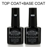 Base Coat Top Coat Vernis Gel - Perfect Summer