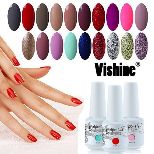 kit vernis à ongles semi permanents vishine